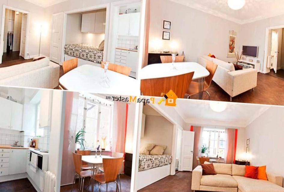 Interior Small studio Apartment Design Ideas - Harmonious and ...