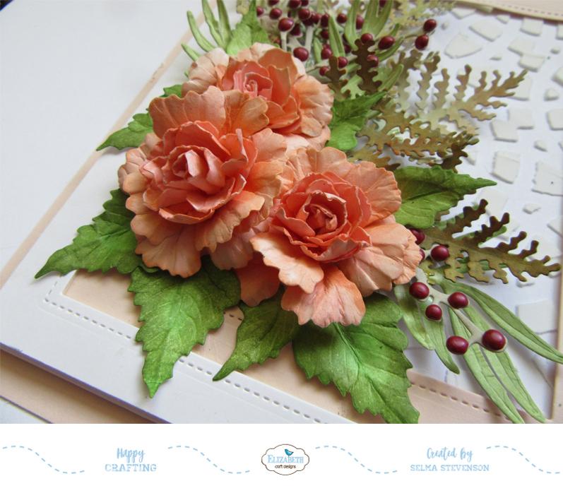 Selma S Stamping Corner And Floral Designs Beautiful Begonias