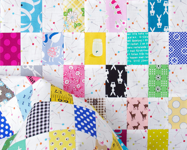 Rectangle Checkerboard Quilt | Fussy Cutting | Red Pepper Quilts