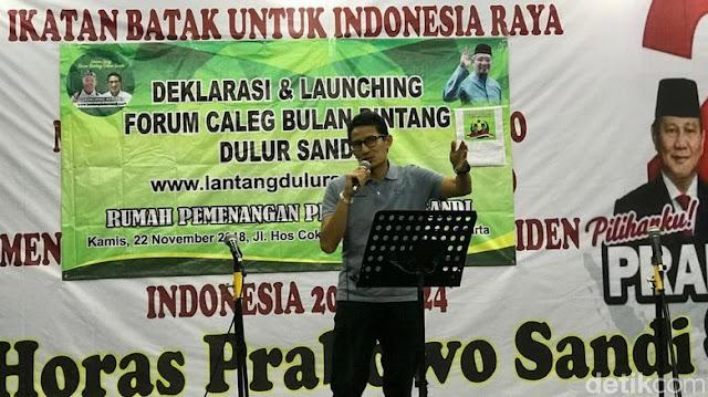 Bertemu Sandi, Ulama dan Jawara Banten Janjikan Kemenangan