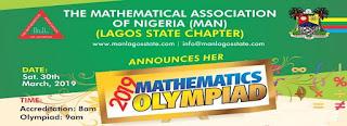 MAN Lagos Mathematics Olympiad Competition Registration 2018/2019