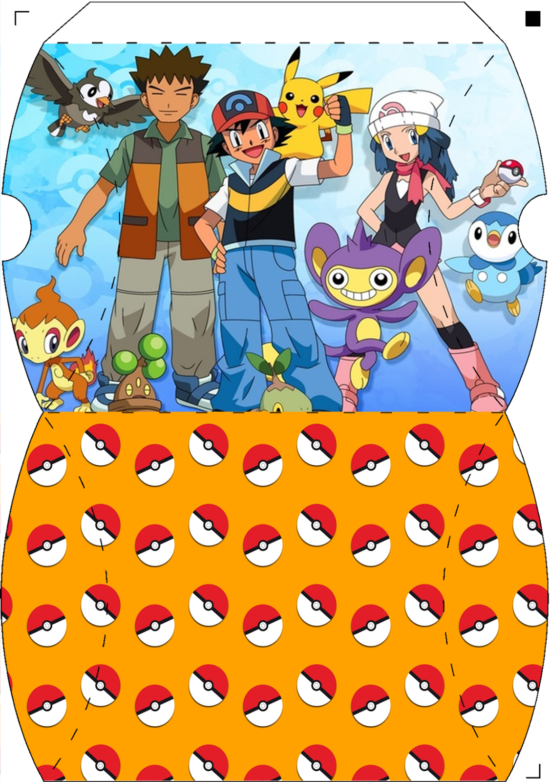 photograph regarding Free Printable Pokemon known as Pokemon Absolutely free Printable Pillow Containers. - Oh My Fiesta! for Geeks