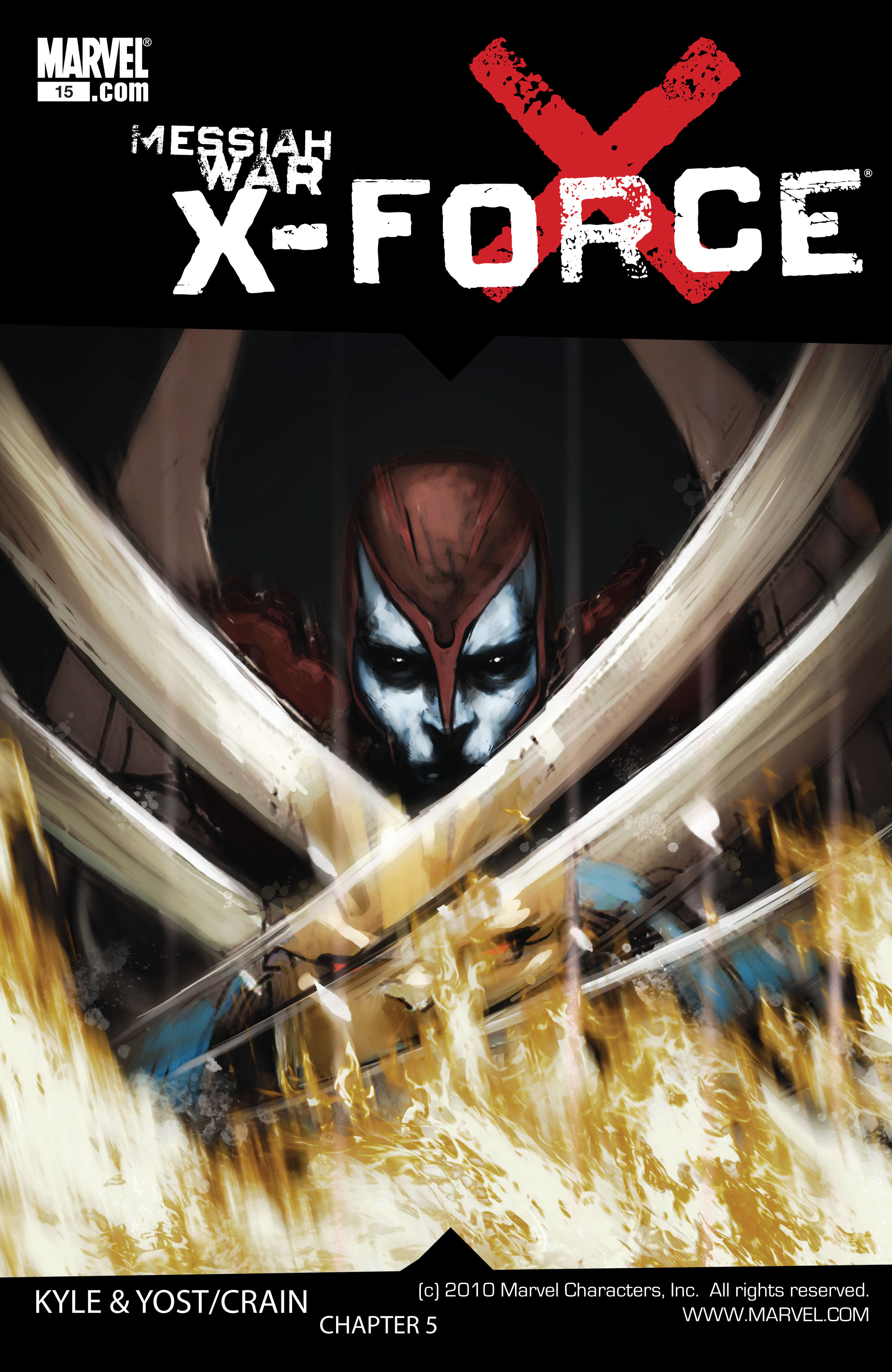 Read online X-Force (2008) comic -  Issue #15 - 1