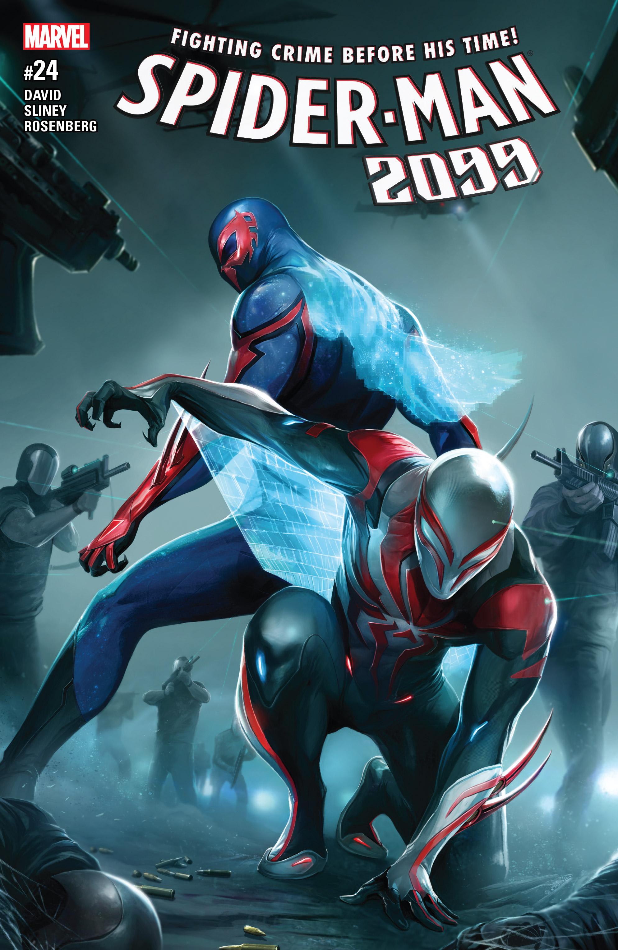 Read online Spider-Man 2099 (2015) comic -  Issue #24 - 1