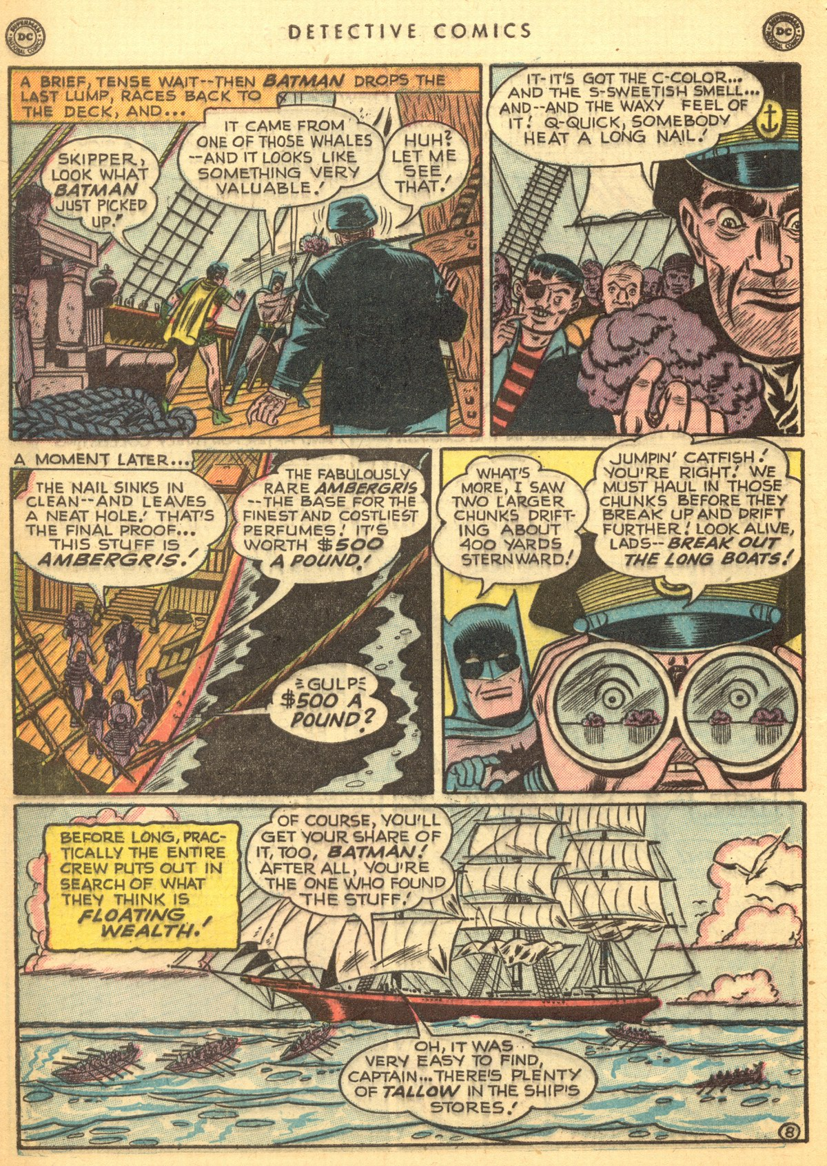 Read online Detective Comics (1937) comic -  Issue #170 - 10