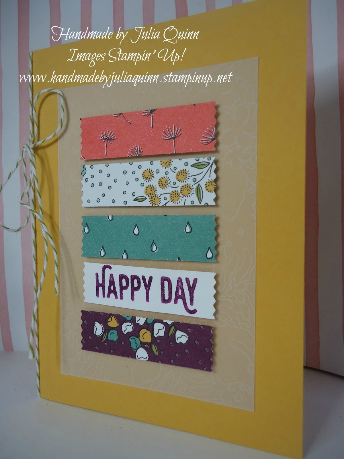 Handmade By Julia Quinn Cardmaking And Supplies Last Days For