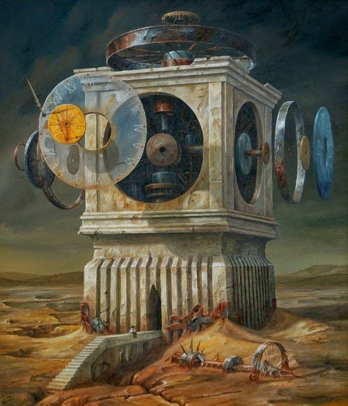 17-Jarosław-Jaśnikowski-Surreal-Paintings-of-Fantastic-Realism-www-designstack-co