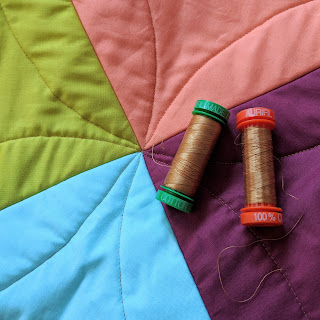quilt by Charm About You using Aurifil thread