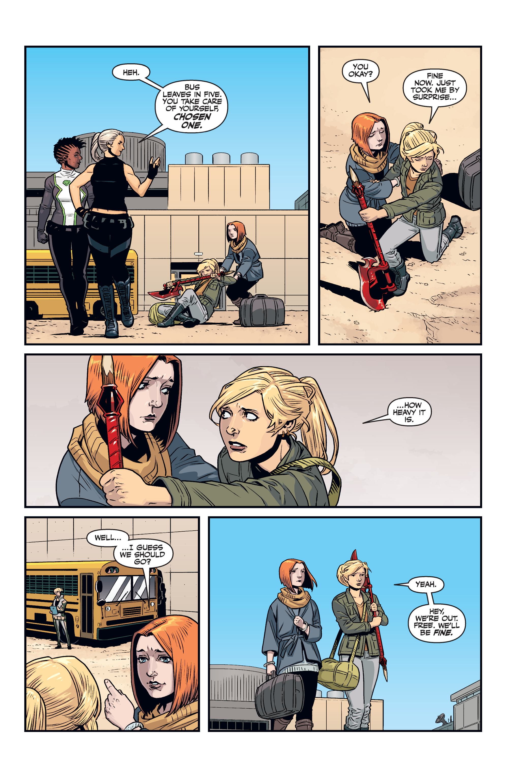 Read online Buffy the Vampire Slayer Season 11 comic -  Issue #7 - 24
