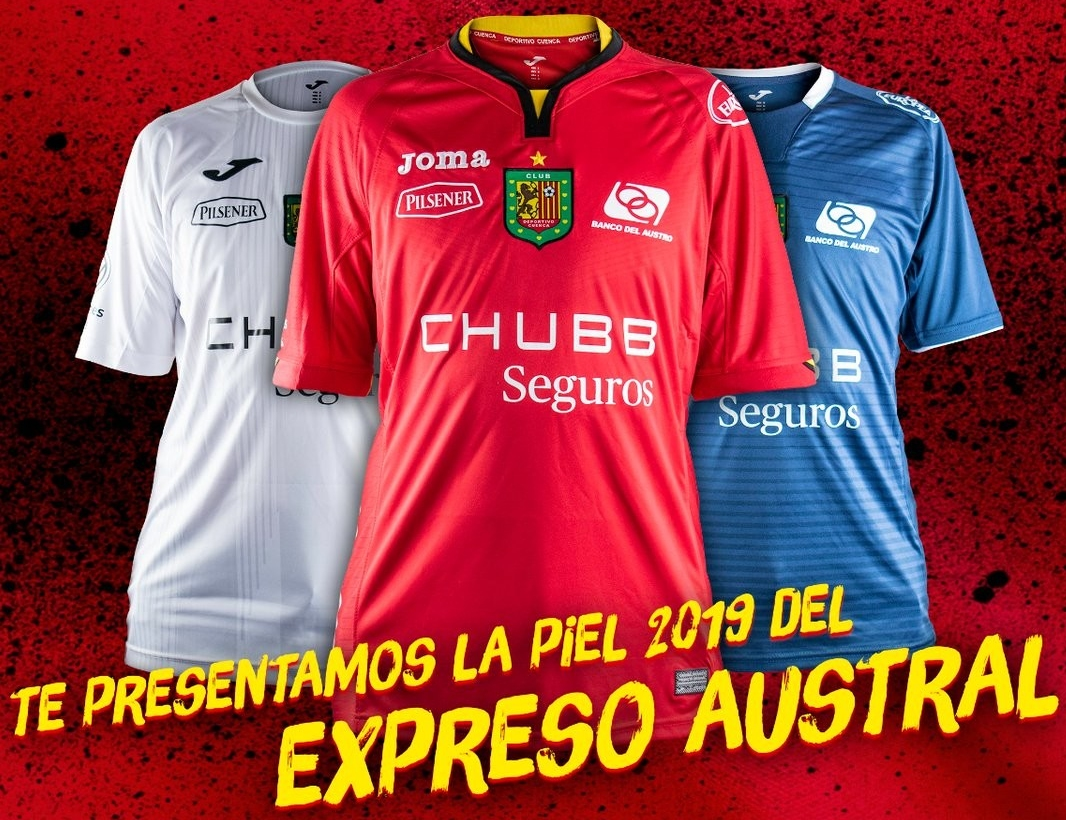 cf6c57f89f9ea Joma apresenta as novas camisas do Deportivo Cuenca - Show de Camisas