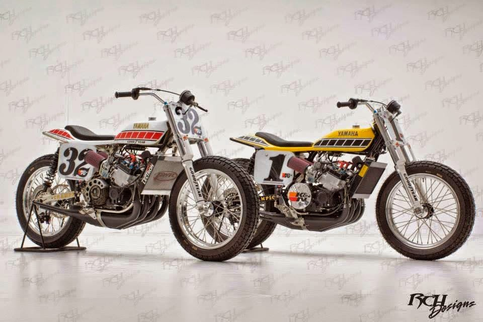 Mercenary Garage Yamaha Tz 750 Flat Trackers