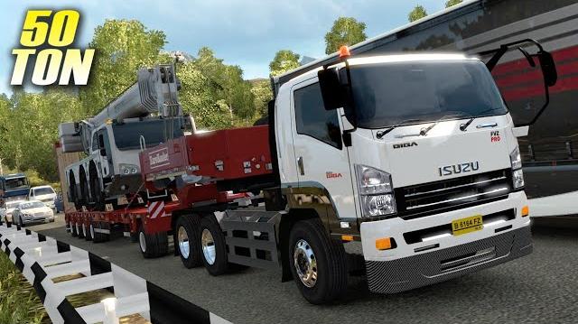 Mod Truk Isuzu Giga Euro Truck Simulator 2