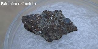 identificação de uma pedra meteorito