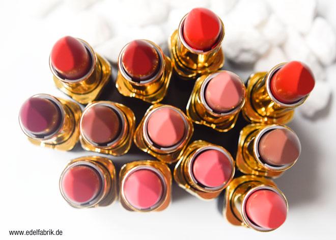Neue Matte Lippenstifte von L'Oreal, Review