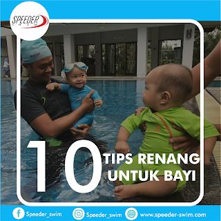 Manfaat Renang bagi bayi