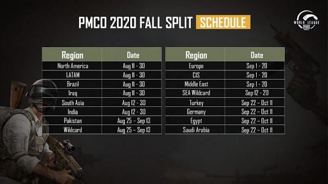 PMCO Fall Split 2020: Başlangıç tarihi ve programı açıklandı