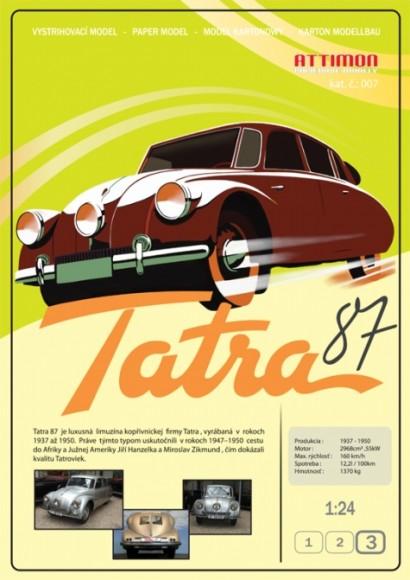 Tatra T-87, T-600
