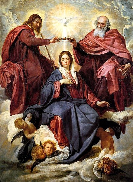 MARIA É RAINHA NO CÉU