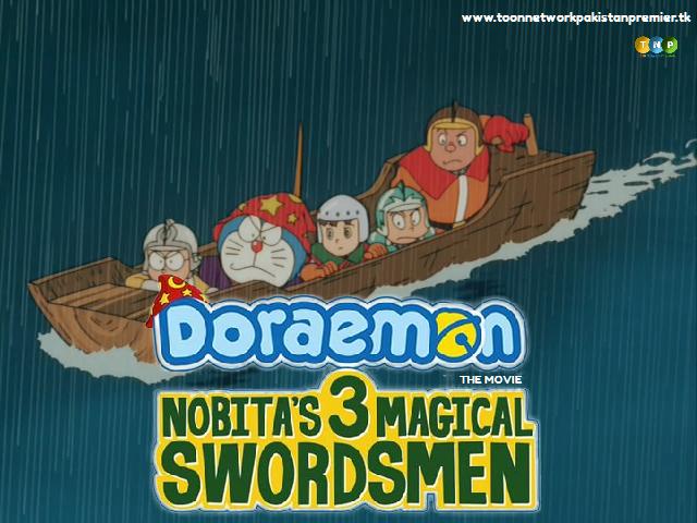 Doraemon The Movie: Nobita's 3 Magical Swordsmen  Full Movie