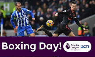 Jadwal Siaran Langsung Boxing Day Liga Inggris - Rabu 26 Desember 2018