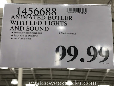 Deal for and Animated Butler with Lights and Sound at Costco