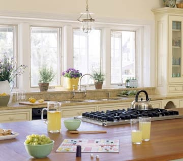 small kitchen ideas with window