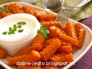 Hranolky z batatov - recept