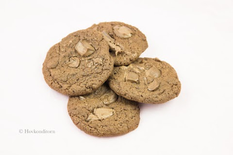 Baked Apple Chocolate Cookies