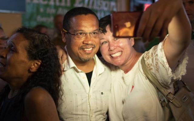 """DNC chair: Domestic abuse claim vs Ellison won't hurt Dems"""