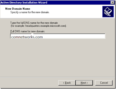 Install Active Directory In Windows Server
