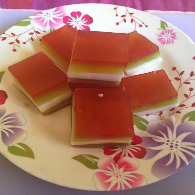 Rainbow/Ribbon Pudding