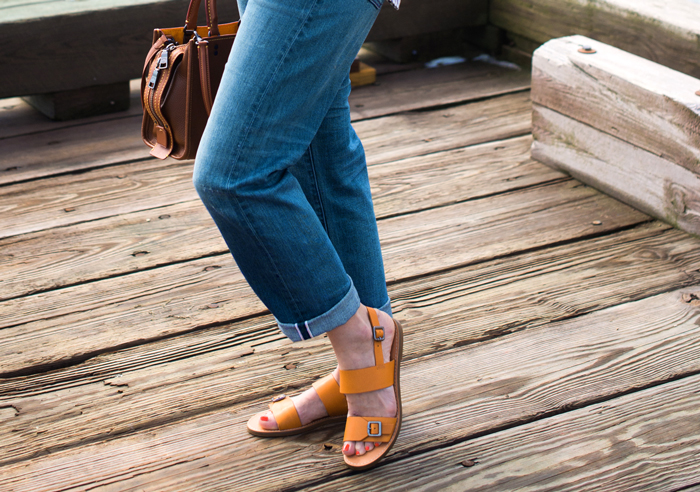 Madewell Boardwalk Buckle Sandal
