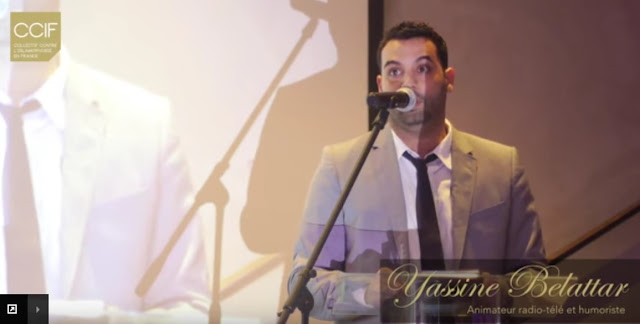 Yassine Belattar anime le gala du CCIF, 29 mai 2015