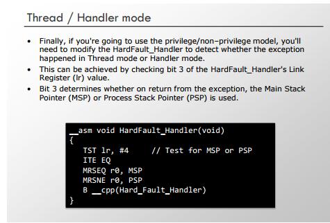 NJIoT: RTOS - hard fault handler