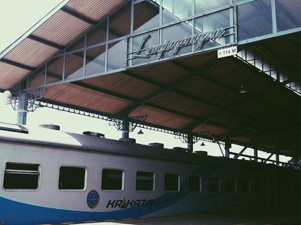 Kereta Pertama Gue