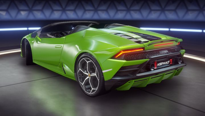 Asphalt 9 Legends 2020 Lamborghini Huracan Evo Spyder M T 3d