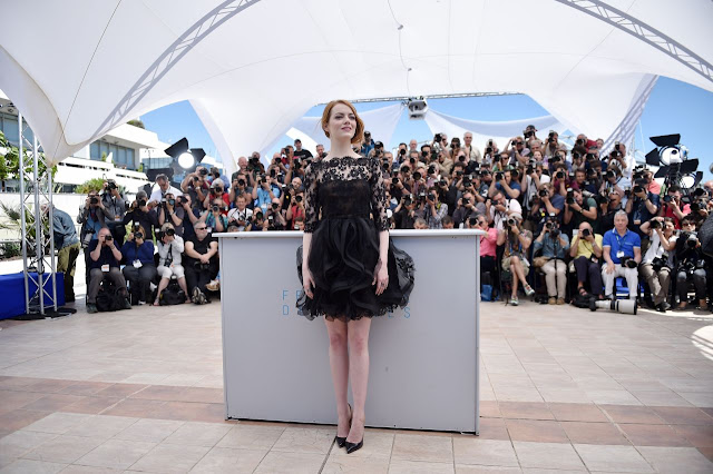 HQ Photos of Emma Stone Irrational Man Photocall 2015 Cannes Film Festival