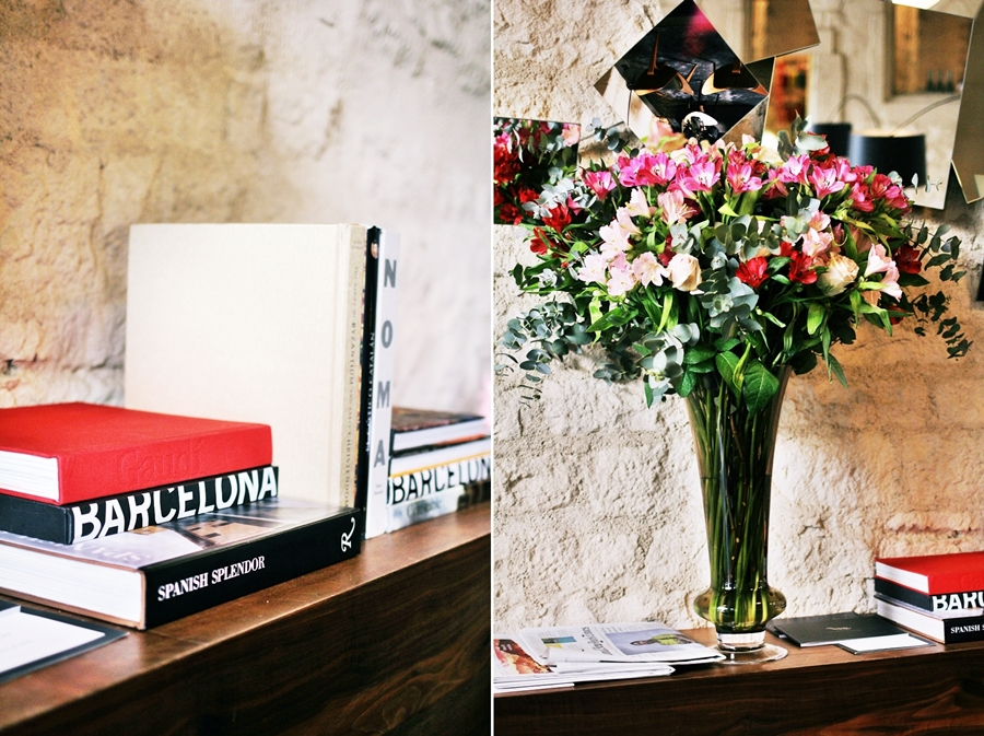 barcelona hotel review books flower