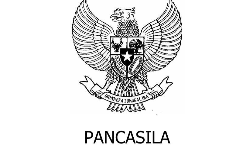 Contoh Bentuk Pancasila dalam Administrasi Guru Sekolah Format Ms. Word (doc/docx)