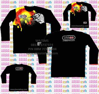 Kaos, Tshirt NV88 Lengan panjang Original ASLI dari NV88