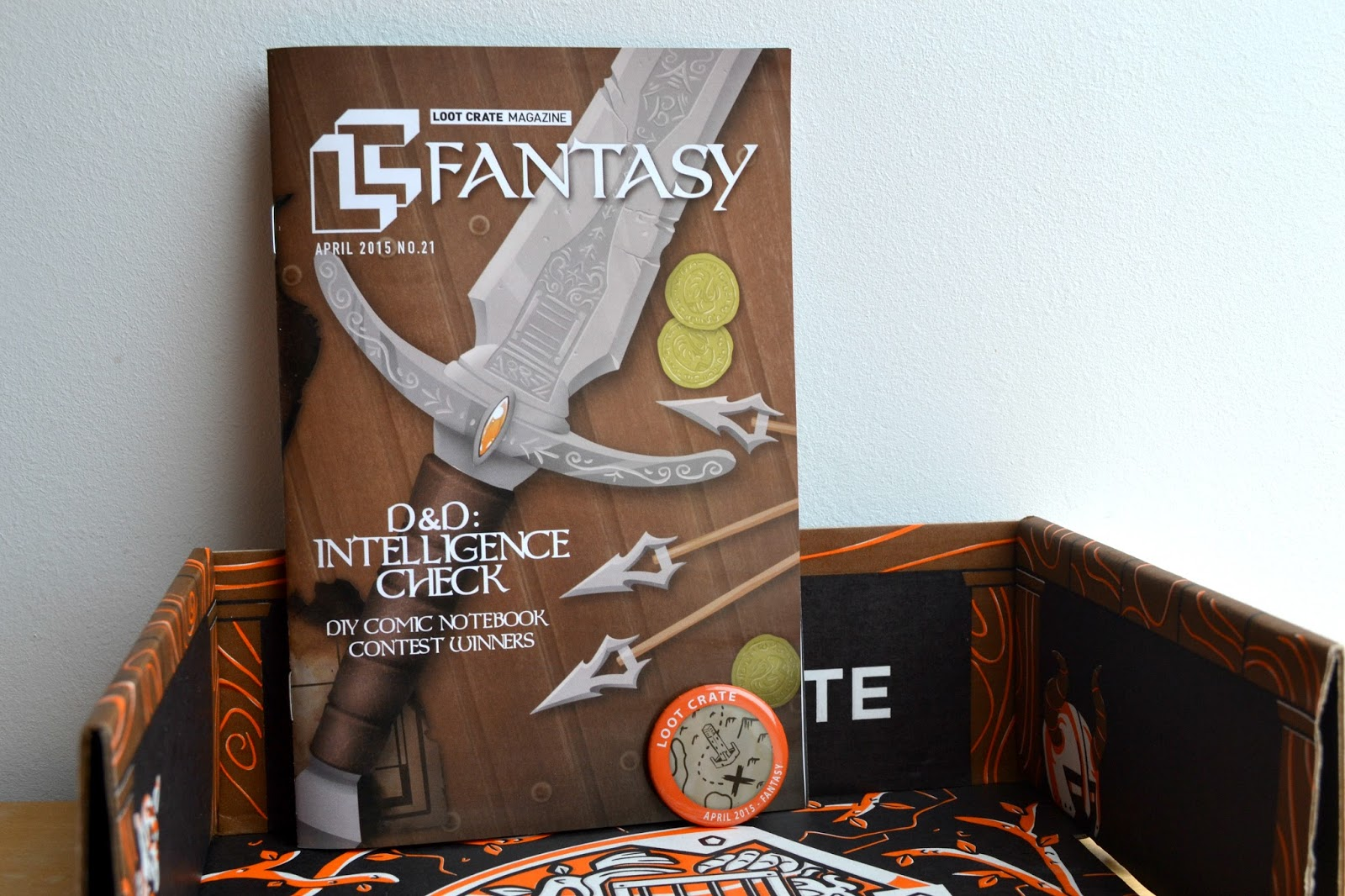 Magazine badge Fantasy Loot Crate