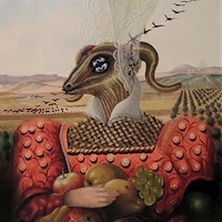 Julio Visquerra retrato surrealista