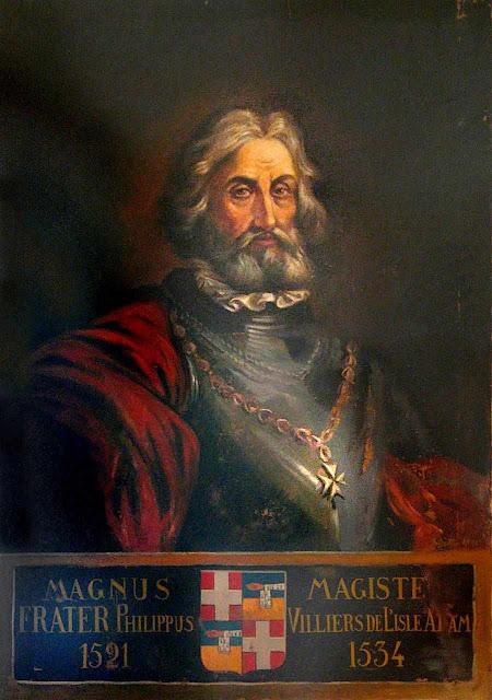 Grão Mestre dos Cavaleiros de Rodas Philippe Villiers de L'Isle-Adam