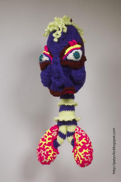 art textile contemporain, art laine