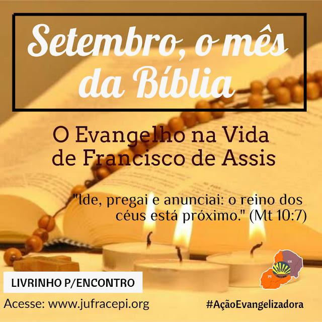 O EVANGELHO NA VIDA DE FRANCISCO DE ASSIS