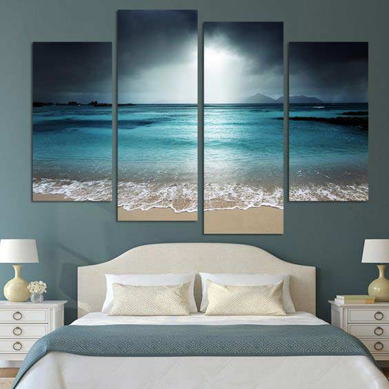 3d Modular Painting For Wall Art Design How To Make Bedroom