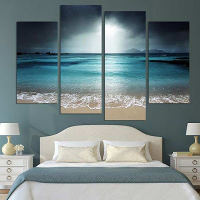 3d modular painting for wall art design, how to make modular painting for bedroom