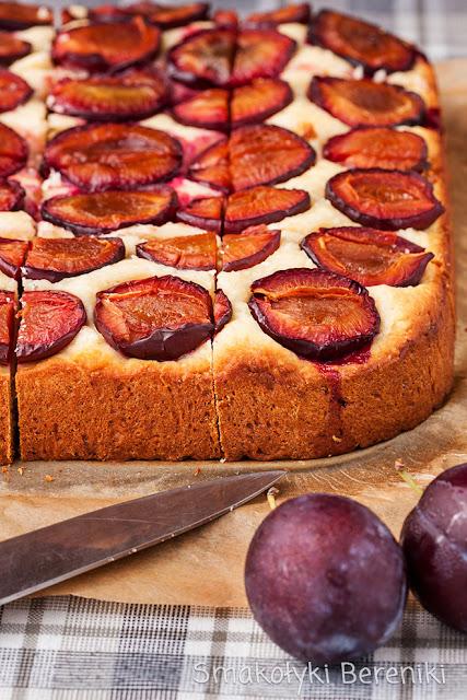 Ciasto krucho-drożdżowe ze śliwkami