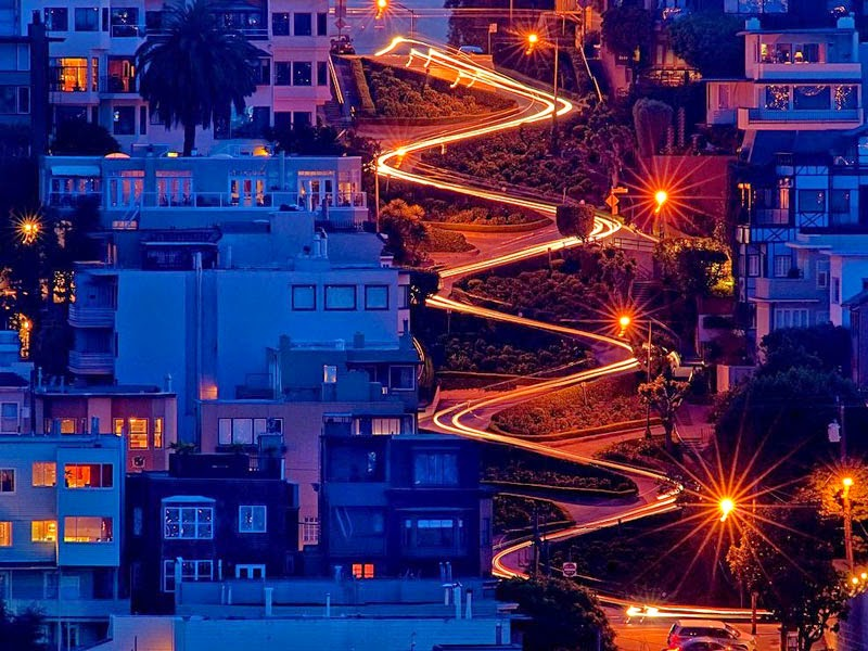 2. Lombard Street, California, United States - 5 of The Most Wondrous Streets on Earth