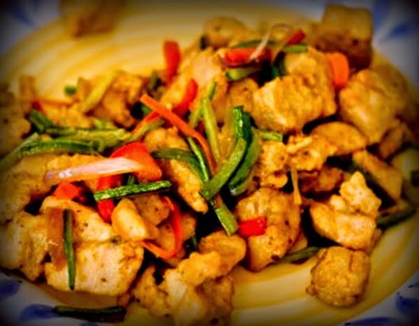Comida chino peruana pescado al mensi fish mensi for Pescado chino
